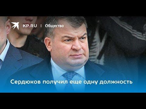 Говно не тонет. Экс-министр обороны России Сердюков получил новое назначение