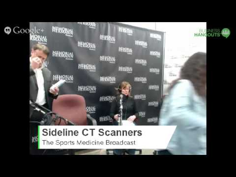 Sideline CT Scanner with MedLogic and Dr  Summer Ott  - 121