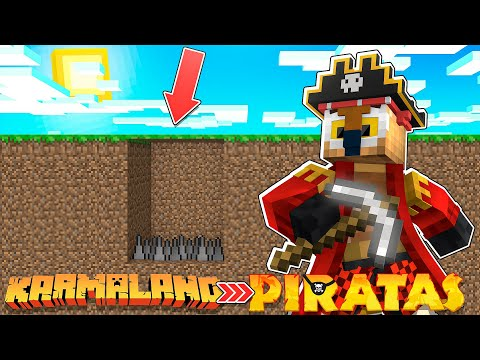 MINECRAFT PIRATAS | TRAIGO ESTO DE KARMALAND A PIRATAS!! #17