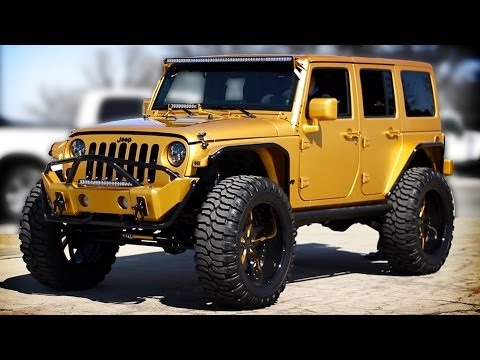 Custom Gold 2012 Jeep Wrangler | Video Tour | Unique Chrysler
