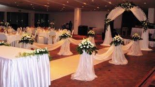 #оформление цветами Алматы. Украшение зала на свадьбу в Алматы