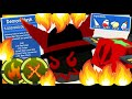 CRAFTING THE *OP* DEMON MASK🔥, PASSIVE X-FLAME ABILITY! (Roblox Bee Swarm Simulator)