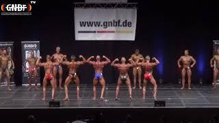 Männer Schwergewicht 16. GNBF Deutsche Meisterschaft 2019