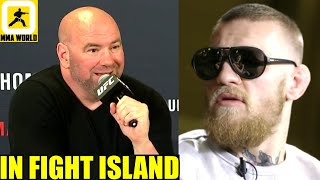 Dana White gives an update on Conor McGregor vs Dustin Poirier on Jan 23 at UFC 257,Mike Perry,Usman