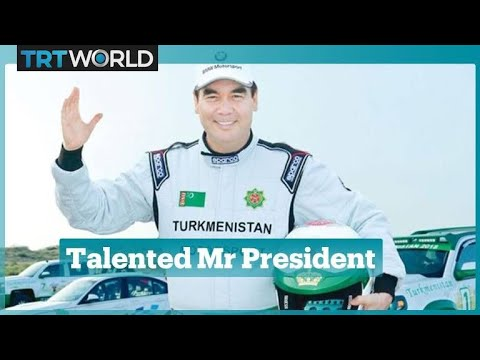 Turkmenistan President in pole position for international rally