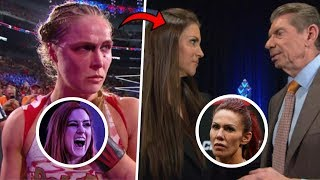 Ronda Rousey THREATENING Vince That She Will QUIT WWE If He Signs Rival UFC Star Cris Cyborg!