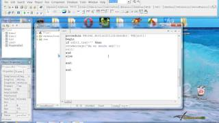 Delphi 7 - Создание игры. Авторизация.