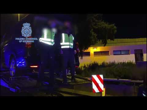 Un detenido en Córdoba que transportaba 748 kilos de hachís en una furgoneta robada en Tarifa