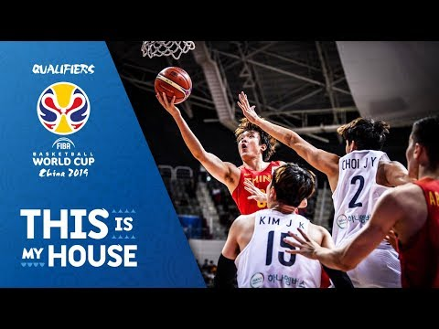Korea V China - Full Game - FIBA Basketball World Cup 2019 - Asian Qualifiers