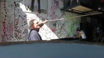 Wall painting Café du Grutli Fromage à Dada
