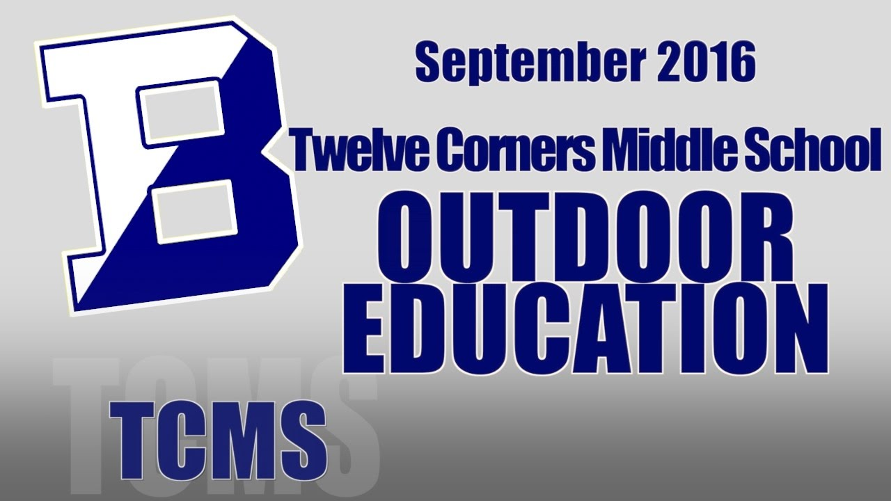 TCMS Outdoor Education 2016 - YouTube