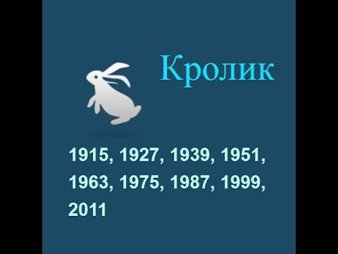 Год Кролика: рождение в год Кролика, гороскоп, карьера
