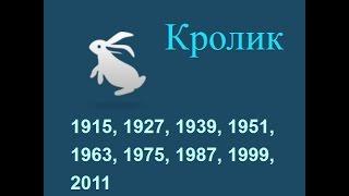 Год кота, кролика, гороскоп составленный психологом Натальей Кучеренко.