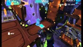 Monsters vs. Aliens Movie Game Walkthrough Part 14 (Wii)
