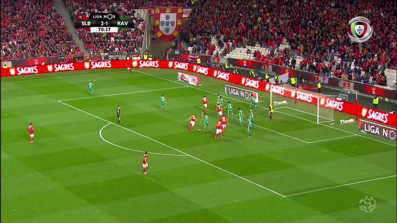 Resumo Benfica 5-1 Rio Ave (Liga 21ªJ)
