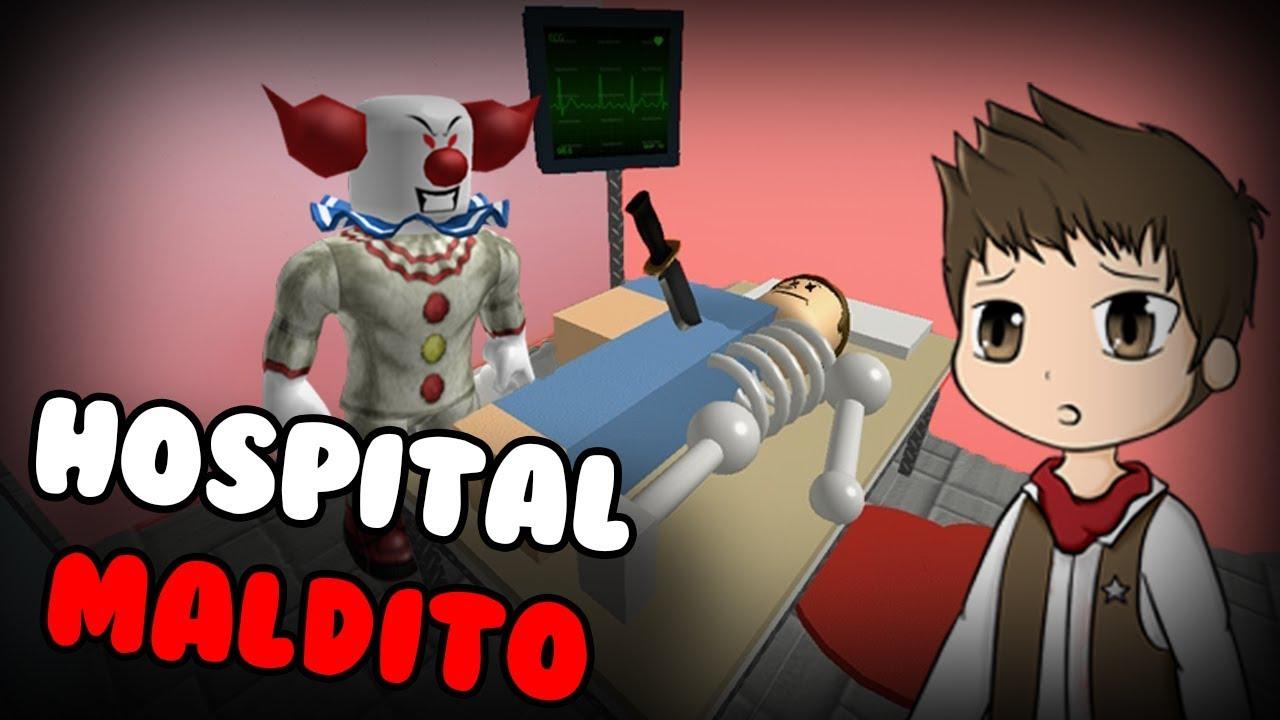 Escapa Del Hospital Malvado Hospital Escape Obby Roblox En Español - escapa de la escuela roblox en espa#U00f1ol youtube