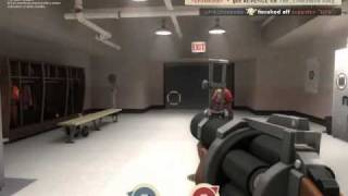 Creepy stalker nerd cries at girl rejecting him in TF2