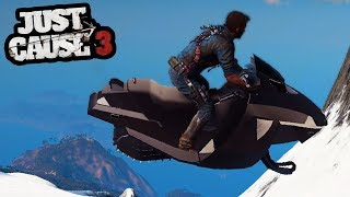 JUST CAUSE 3 - 2 Years Later I HAVE FOUND OUT IT HAD A SNOWMOBILE! | SuperRebel