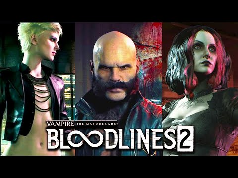 Vampire The Masquerade – Bloodlines 2  : All Clan Introduction Trailers so far 4k upscaled (2019)