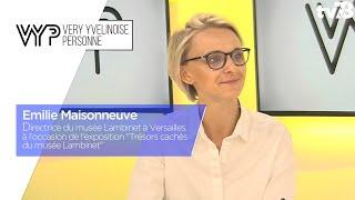 VYP. Emilie Maisonneuve, commissaire de l'exposition: Trésors cachés du musée Lambinet