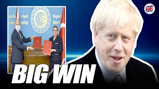 SHOCK Von der leyen stunned as new Brexit deal with Turkey and UK spiked 12 after EU split