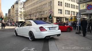 LORINSER Mercedes S63 AMG - LOUD SOUND!