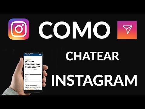¿Cómo Chatear por Instagram?