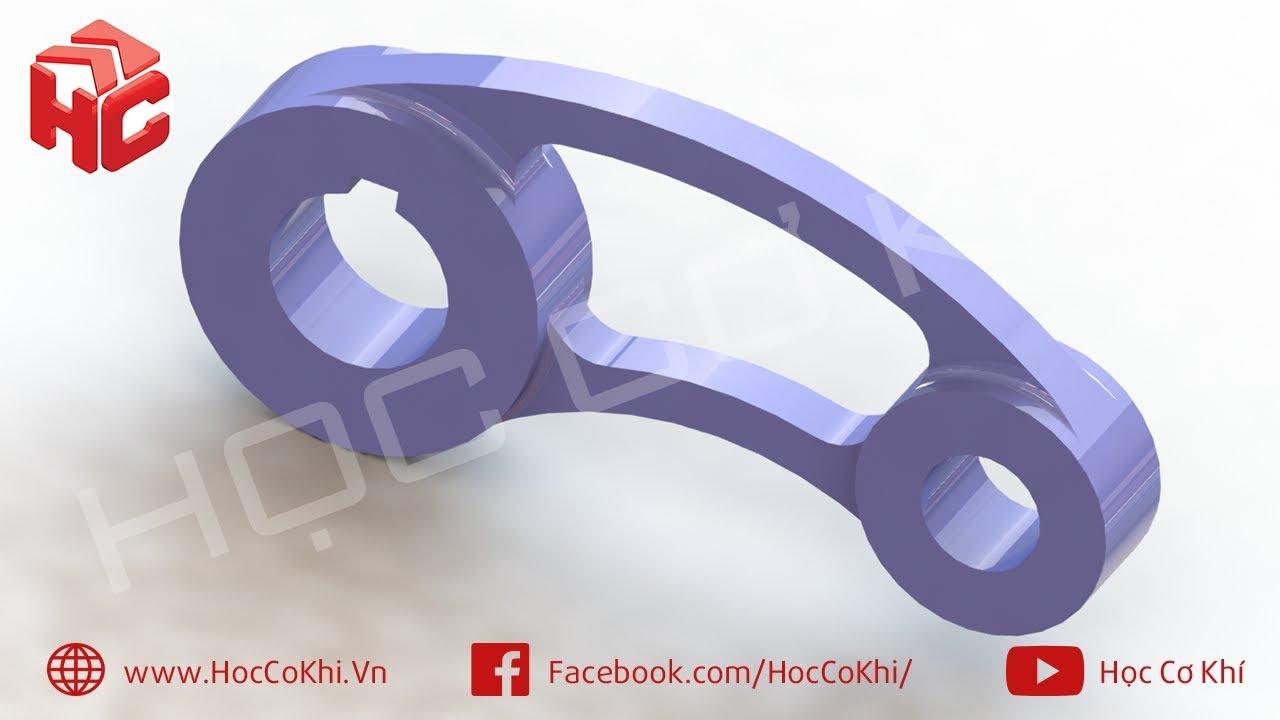 [hoccokhi] Đồ án công nghệ chế tạo máy | Hướng dẫn vẽ chi tiết đề tài số 30
