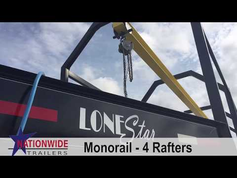 Custom Monorail Oilfield Trailer