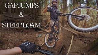 GAP JUMPS AND STEEP LOAM // Meat Sweats, MT Cypress // My First Time On Cypress Pt. 2