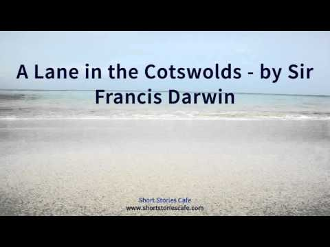 A Lane in the Cotswolds   by Sir Francis Darwin
