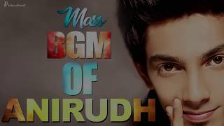 Anirudh Mass BGM Collection | Kaaki Sattai | Maan Karate | Maari | Vedalam | VIP | Anirudh Hit Songs