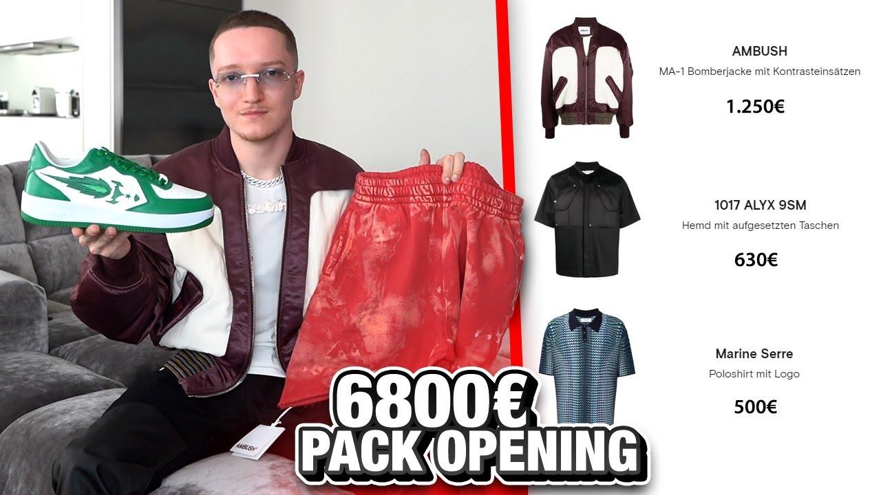 Endlich wieder ein XXL Farfetch Fashion Pack Opening! 🎁