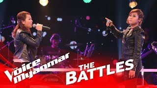 "Aww Aww vs. Ip Shen Paung: ""ေခၚသံ"" - The Battles - The Voice Myanmar 2018"
