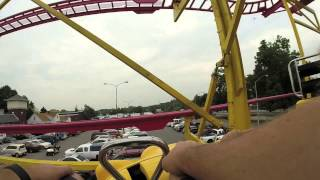 GoPro Video of Indiana State Fair Midway - Crazy Mouse