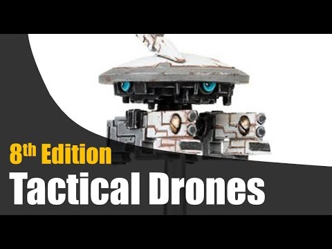 Tau Drones 8th Edition 40k