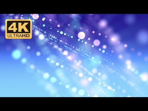 Free Stock Footage | 4k Videos | No Copyright Videos | Particles Blue Abstract Motion Background
