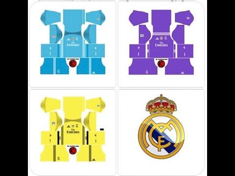 UPDATE.. KIT REAL MADRID Team Dream League Soccer 2020 || Download Nya Mudah Banget, Tanpa Aplikasi.