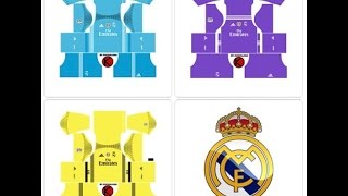 Dreamleague, Get set of Real Madrid URL , Logo and Kit