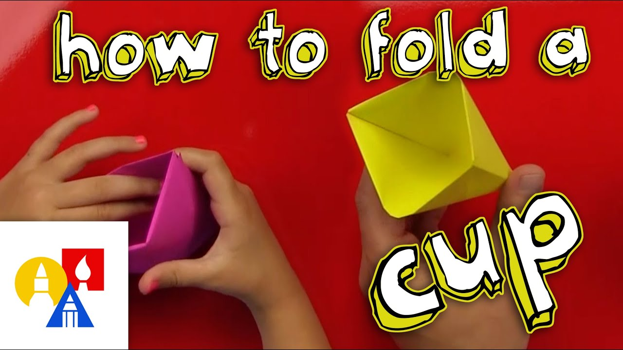 Papercraft How To Fold An Origami Cup