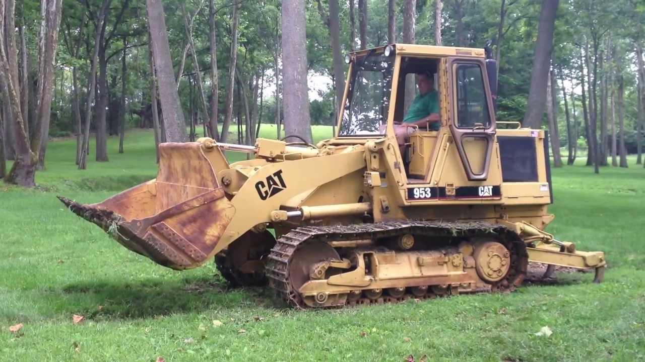 Track Loader For Sale >> Caterpillar 953 Track Loader Dozer FOR SALE $25,000 in VA ...