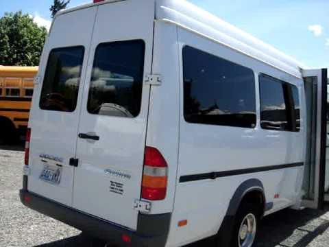 Northwest Bus Sales - 2006 Dodge Sprinter 12 Passenger Shuttle For Sale -  S81029