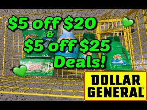 $2 Transaction & Missing Coupons | Dollar General | $5 off $25 Savings | Shop with Sarah | 8/8