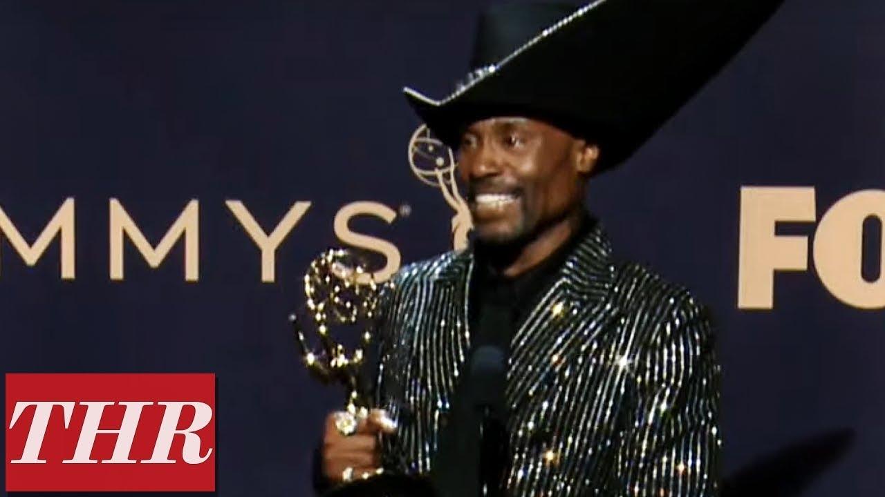 Emmy Winner Billy Porter Full Press Room Speech | THR