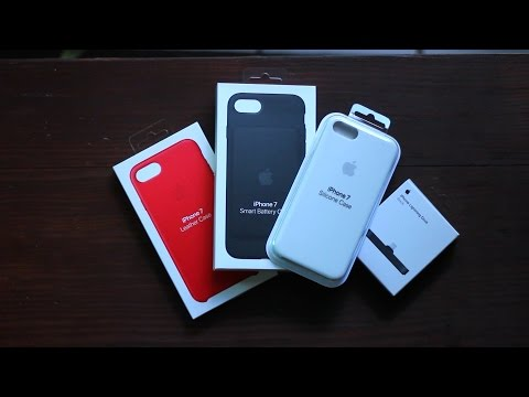 Apple's iPhone 7 Accessories (Cases + Dock)