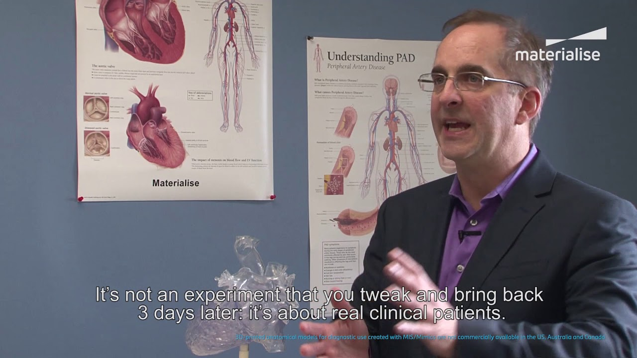 Dr. Frank Rybicki Discusses 3D Printing in Hospitals | Materialise Medical