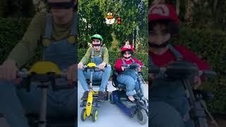 Playing Mario Kart in Real Life