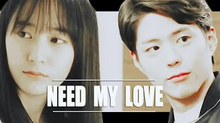 Lee Yoon Ho ● Yoon Se Na │need my love [ park bo gum ♥ krystal jung / crossover mv ]