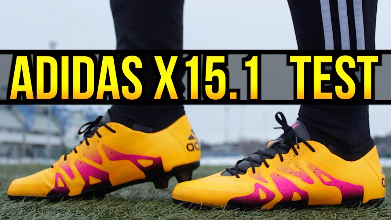 Testing NEW adidas X 15.1 Football Boots 2016  873a511774262