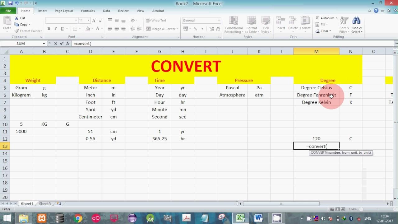 unit conversion using convert function meter to centimeter. Black Bedroom Furniture Sets. Home Design Ideas